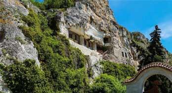 Rock Monastery St. Dimitar Basarabovski (Village of Basarbovo) near Ruse