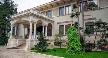 Spring Palace in Bucharest. Palatul Primaverii